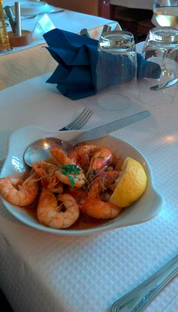 Restaurante O Lourenco: Shrimps - tasty