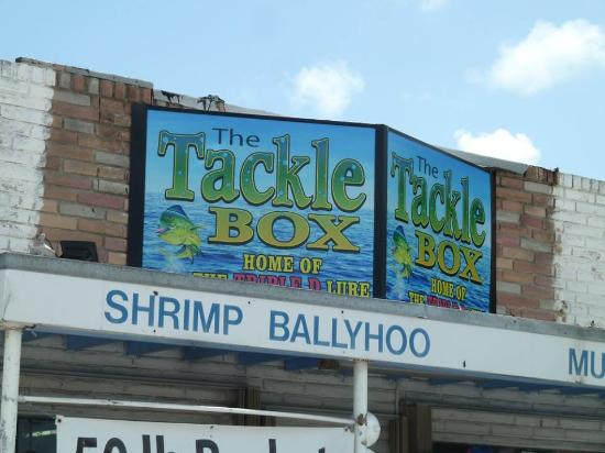 The Tackle Box: Our New Sign