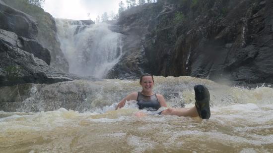 Belize Nature Travel: Big Rock Falls