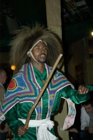 Crown Hotel: Traditional ethiopian music