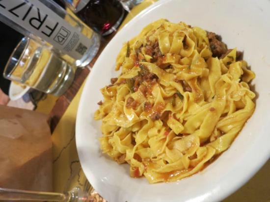 Виккьо, Италия: Pasta