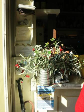 Vicchio, Italien: seasonal decoration