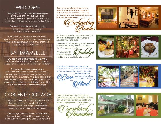 Coblentz Inn Boutique Hotel: Taste of Coblentz Inn