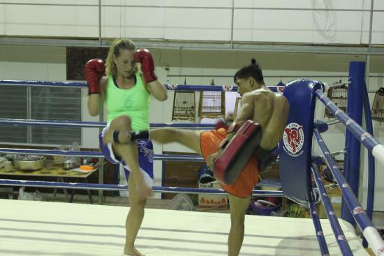 Thai Boxing Camp