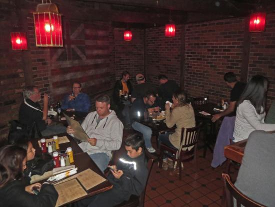 Table Seating - Picture of Red Coat Tavern, Royal Oak - TripAdvisor