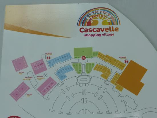 small modern shopping mall - Picture of Cascavelle Shopping Village