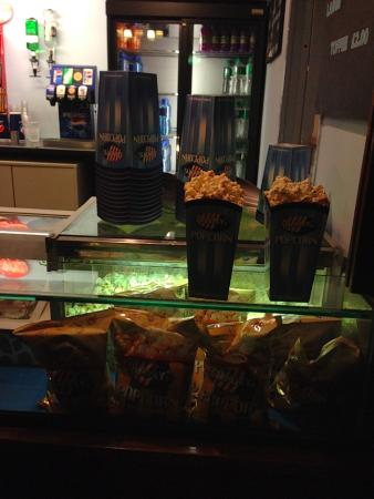 Cottage Road Cinema: The concession stand.