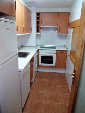 Aparthotel Huesca: Cocina
