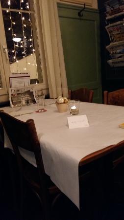 Restaurant Brandenberg: table