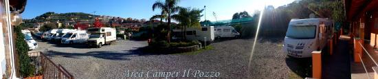 Area Camper Il Pozzo: panoramica area camper