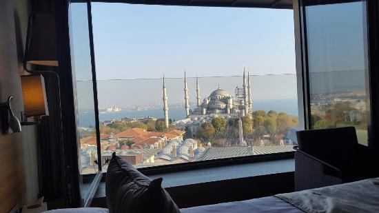 Best boutique hotel with mosque view