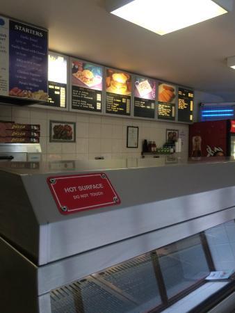 Lydbrook, UK: The Menu