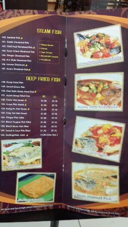 Menu picture of restaurant homst bandar baru bangi for 328 chinese cuisine menu