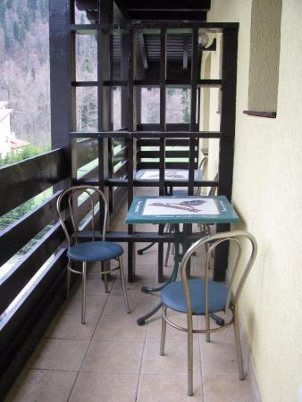 Azuga, Rumunia: balcony