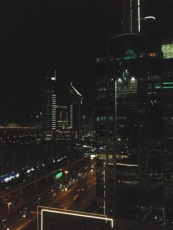 Fairmont Dubai: City lights