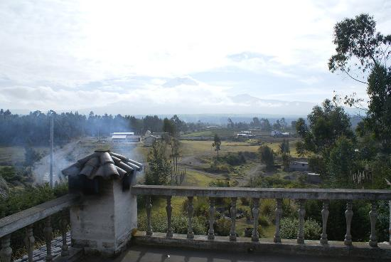 Huagra Corral Hostel : View on Cotopaxi