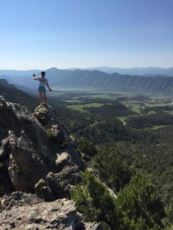 New Castle, CO: One of the many overlooks on the trail