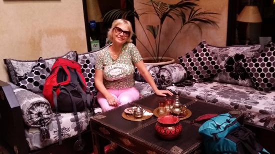 Dar Loula: Нас сразу напоили марокканским чаем