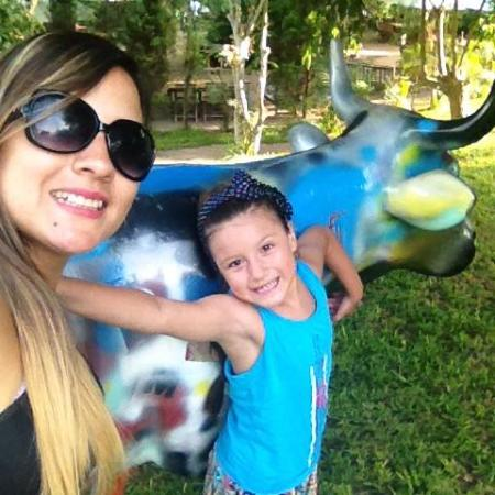 Foto de la huerta de pachacamac pachac mac vacas en el for Vacas decorativas para jardin