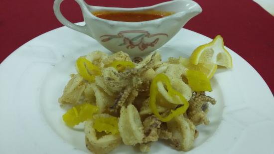 Jeffersonville, IN: Crispy Golden Calamari
