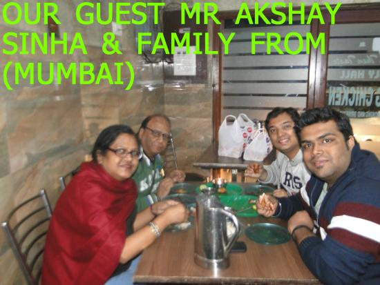 OUR GUEST MR AKSHAY FROM (MUMBAI)