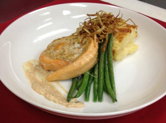 Jeffersonville, IN: Moroccan Grilled Salmon
