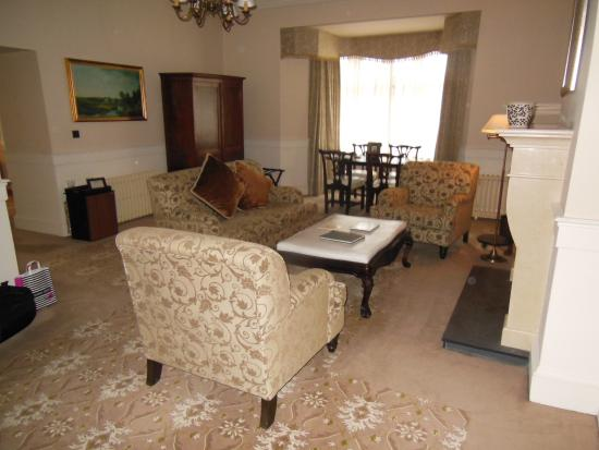 Donegal Town, أيرلندا: Five Stars to Suite 203 at Lough Eske