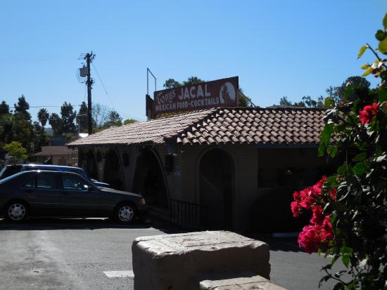 Tony's Jacal : View of restaurant from the street