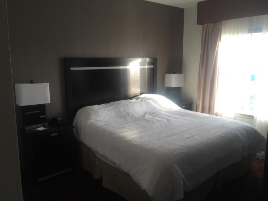 Hampton Inn & Suites by Hilton Lethbridge: Big King Bed