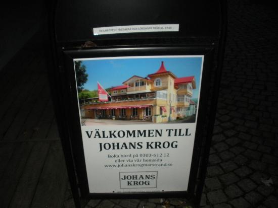Johan's Krog: reklam
