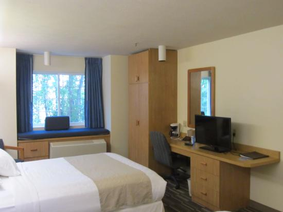 Microtel Inn & Suites by Wyndham Anchorage Airport: Room