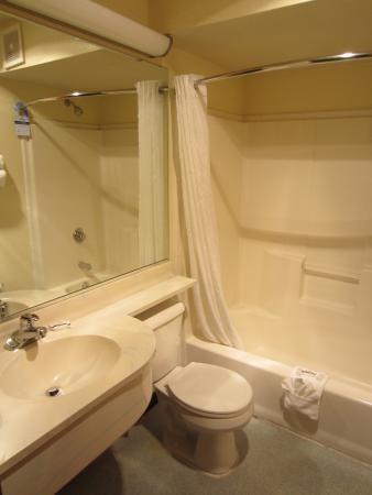 Microtel Inn & Suites by Wyndham Anchorage Airport: Bathroom