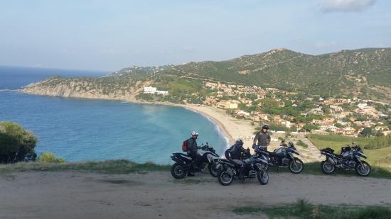 Solanas, إيطاليا: Motorradtouren 2x Wöchentlich mit BMW´s