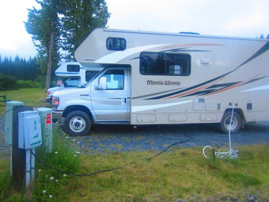 Stoney Creek RV Park: Our RV spot