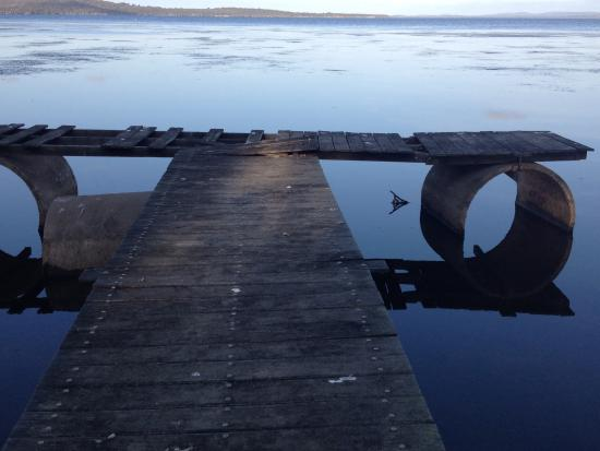 The Denmark Waterfront: The jetty which is dangerous and unusable