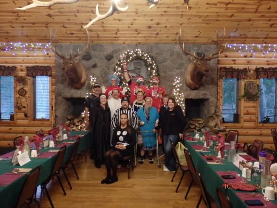 Hillman, MI: Murder Mystery Weekend October 2015 at the Cabin in the Woods.