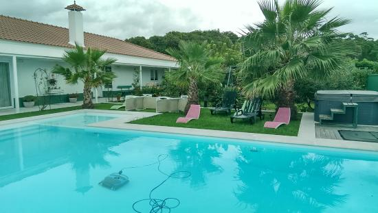 Pool - Quinta de Santa Barbara Turistic Houses: x