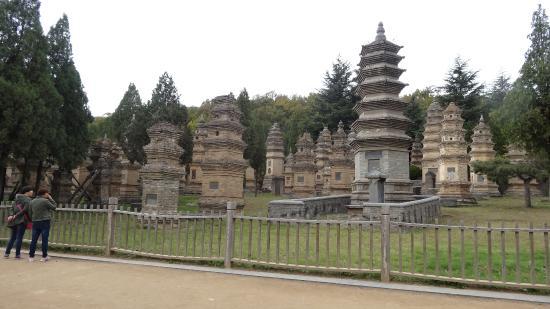 Dengfeng, Κίνα: Cemetery