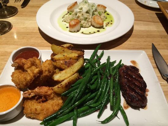 Devon Seafood and Steak: Surf & Turf