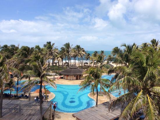 Suites Beach Park Resort Vista Do Quarto 4º Andar