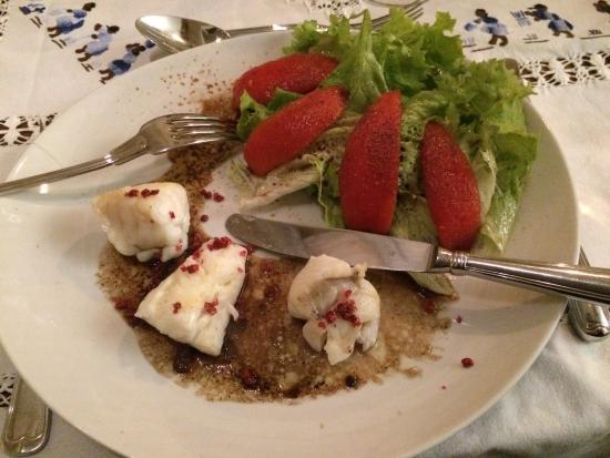 Nerigean, Francia: 夕食 メイン魚