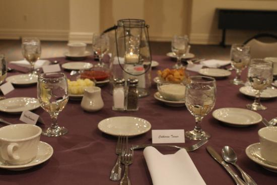Heritage Hills Golf Resort & Conference Center: Table Setting