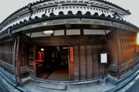 Imanishike Residence: 今西家住宅  入口 建物北側