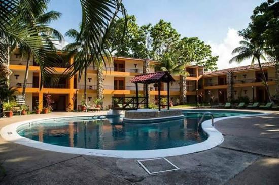 Hotel Plaza Palenque: Zona de Alberca.