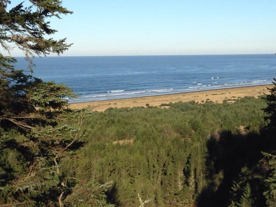 Ilwaco, วอชิงตัน: The end of the trail for Lewis and Clark, the Interpretive Center has a great display with inter