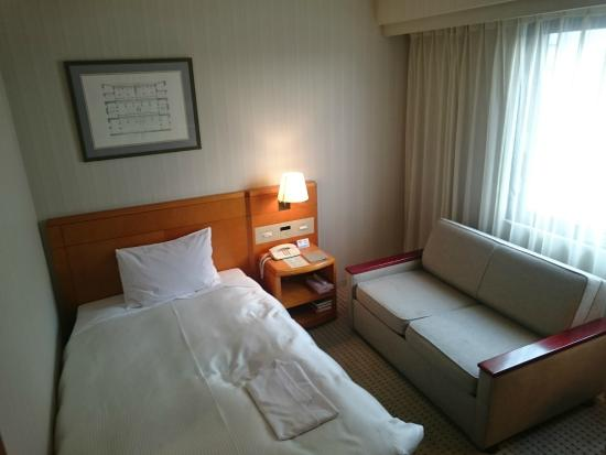 Kanazawa New Grand Hotel Annex : 宿泊した部屋の写真