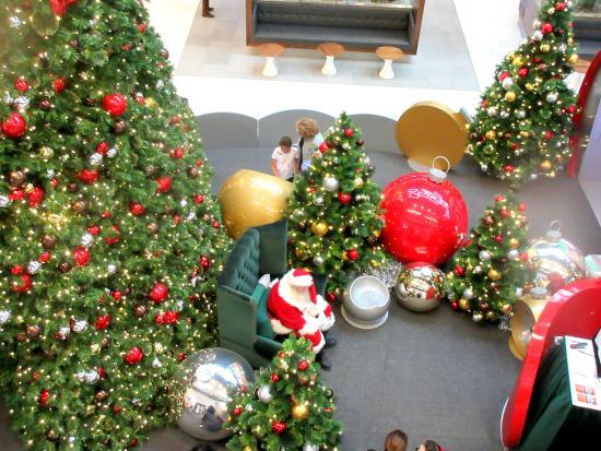 Christmas Decorations Westfield Santa Anita Shopping