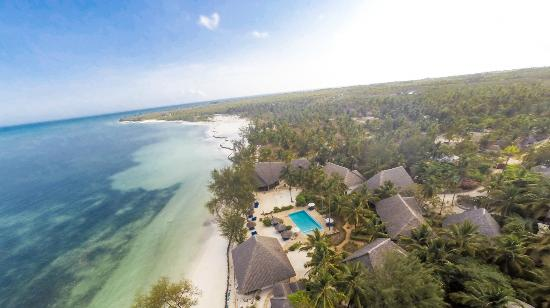 Michamvi Sunset Bay Resort: Aerial view
