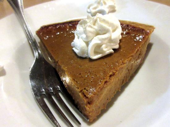 Pumpkin Pie, Coco's Restaurant, Anahiem, Ca