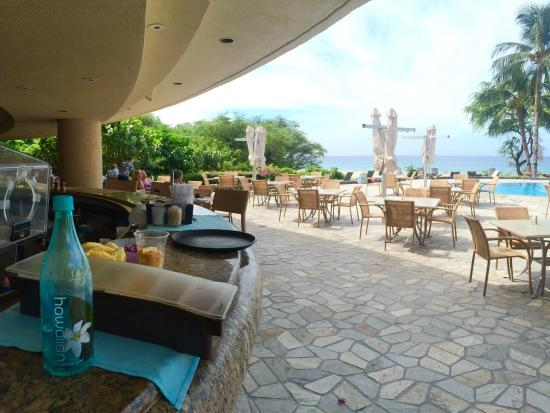 Beach Bar Picture Of The Westin Hapuna Beach Resort Puako